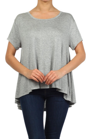 Basic Drape Boxy Top