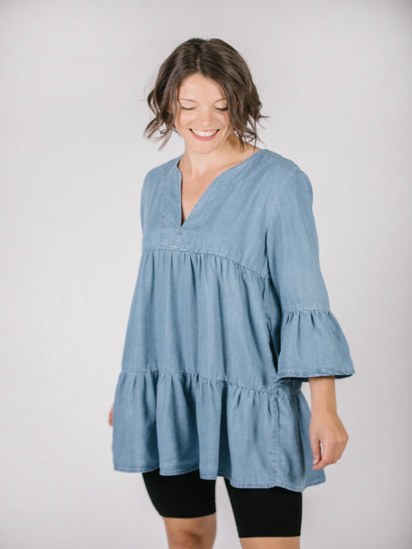 Neva Tunic Dress Dresses - The Post Office by Shannon Passero. Fashion Boutique in Thorold, Ontario