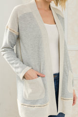 French Terry Open Cardi Tops - The Post Office by Shannon Passero. Fashion Boutique in Thorold, Ontario