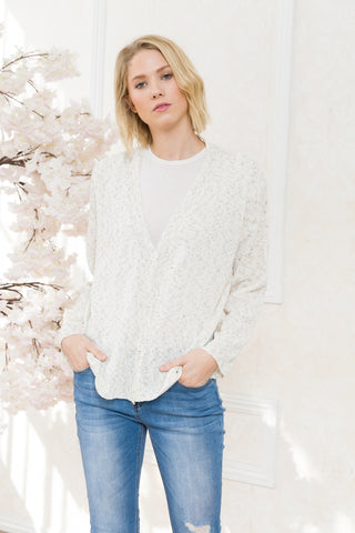 Melange Basic Cardigan