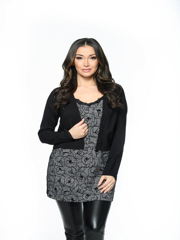 L/S Balero Jacket Tops - The Post Office by Shannon Passero. Fashion Boutique in Thorold, Ontario