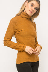 Ribbed Turtleneck Tops - The Post Office by Shannon Passero. Fashion Boutique in Thorold, Ontario