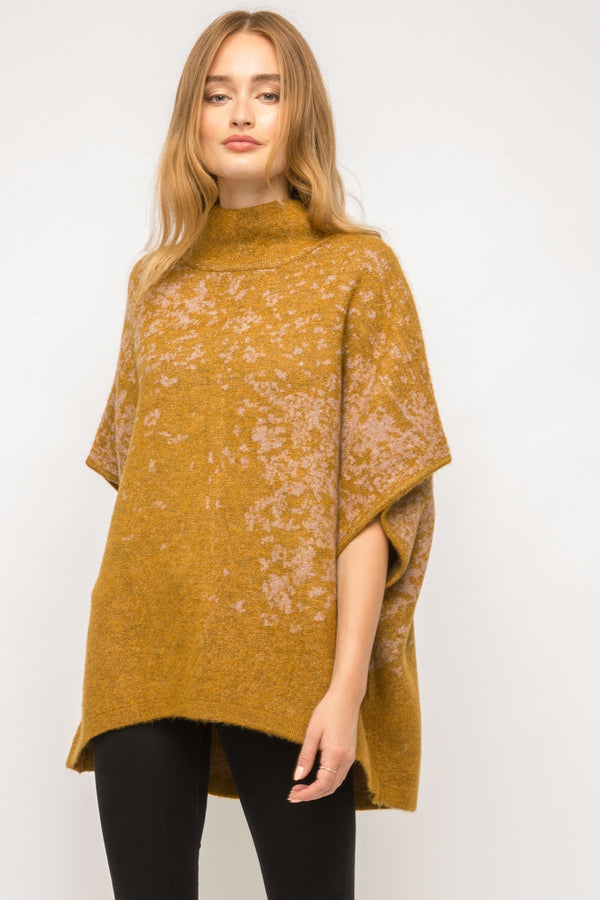 Turtleneck Poncho Tops - The Post Office by Shannon Passero. Fashion Boutique in Thorold, Ontario
