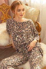 Matching Leopard Print Top Tops - The Post Office by Shannon Passero. Fashion Boutique in Thorold, Ontario