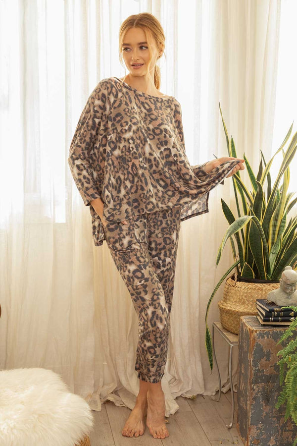 Matching Leopard Pant Bottoms - The Post Office by Shannon Passero. Fashion Boutique in Thorold, Ontario