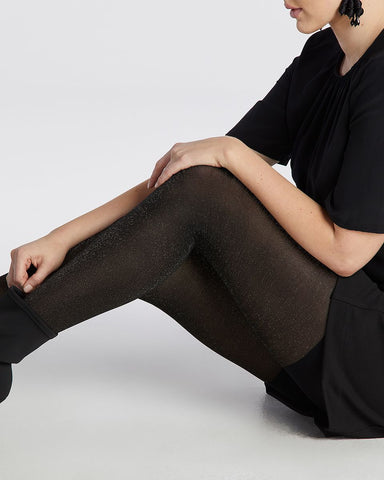 Spanx Metallic Shimmer Mid-thigh Shaping Tights Canada