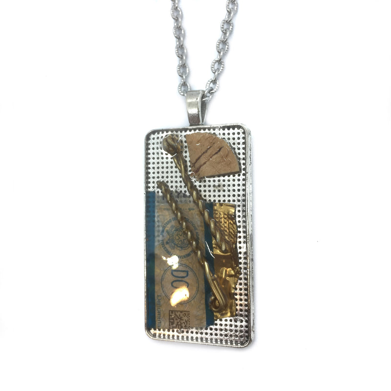 Champagne Memories Necklace Consignment Product - The Post Office by Shannon Passero. Fashion Boutique in Thorold, Ontario