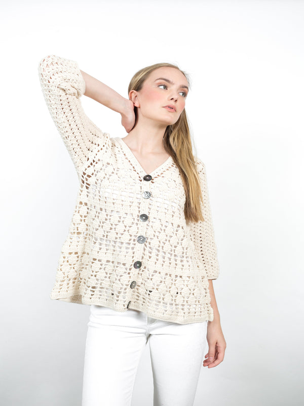 Janice Cardigan Tops - The Post Office by Shannon Passero. Fashion Boutique in Thorold, Ontario
