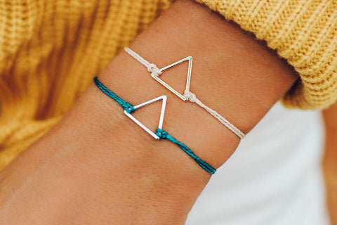 Gold Triangle Bracelet