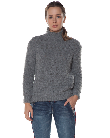 Plush Turtleneck Sweater
