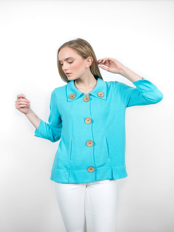 Sutton Jacket Tops - The Post Office by Shannon Passero. Fashion Boutique in Thorold, Ontario