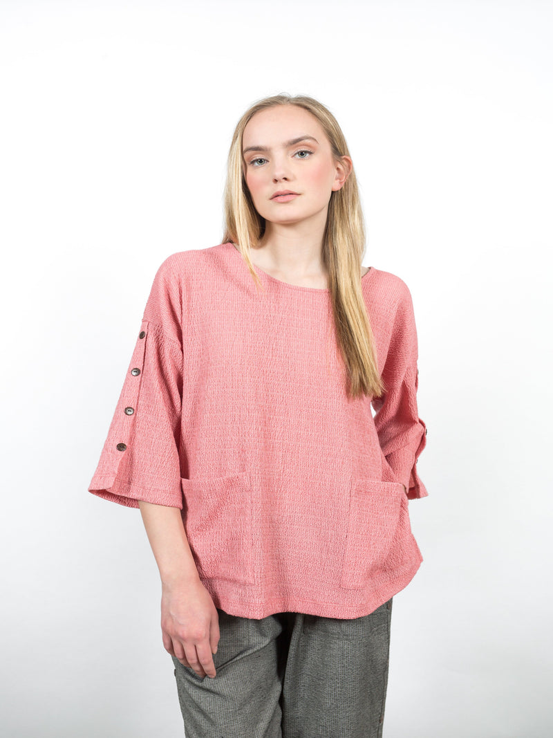 Monroe Pullover Tops - The Post Office by Shannon Passero. Fashion Boutique in Thorold, Ontario