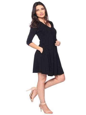3/4 Sleeve Swing Dress Last Tango Canada