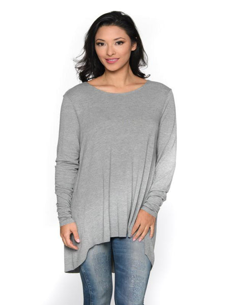 Unfinished Hem L/S Top Shannon Passero Design Canada