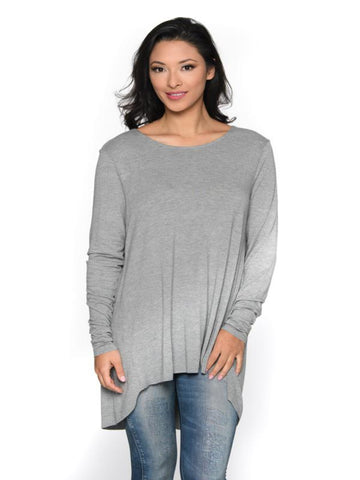 Unfinished Hem L/S Top Shannon Passero