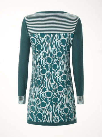 Lou Lou Printed Knit Tunic