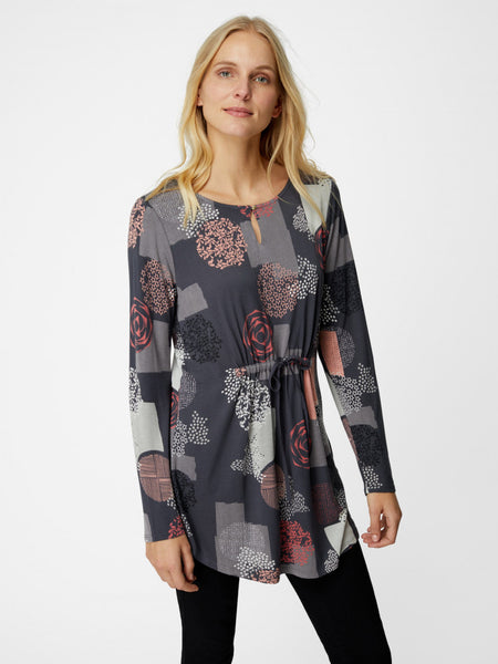 Etched Spot Print Tunic