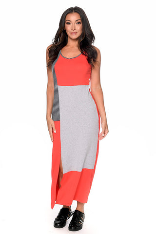 Colourblock Maxi Dress Dresses - The Post Office by Shannon Passero. Fashion Boutique in Thorold, Ontario