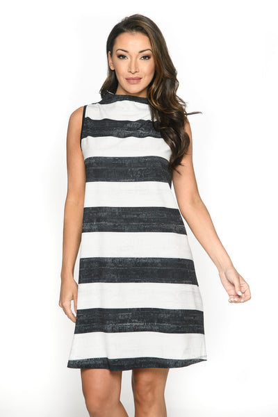 Striped Mood Dress Isle Canada