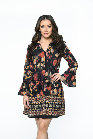 Tassle Boho Dress Isle Canada