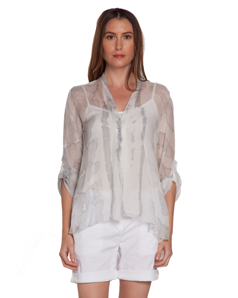 Water Vneck Blouse