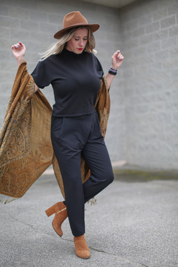 Wrap Front Trouser Consignment Product - The Post Office by Shannon Passero. Fashion Boutique in Thorold, Ontario