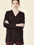 Fleece Vneck L/S Top Shannon Passero Design Canada