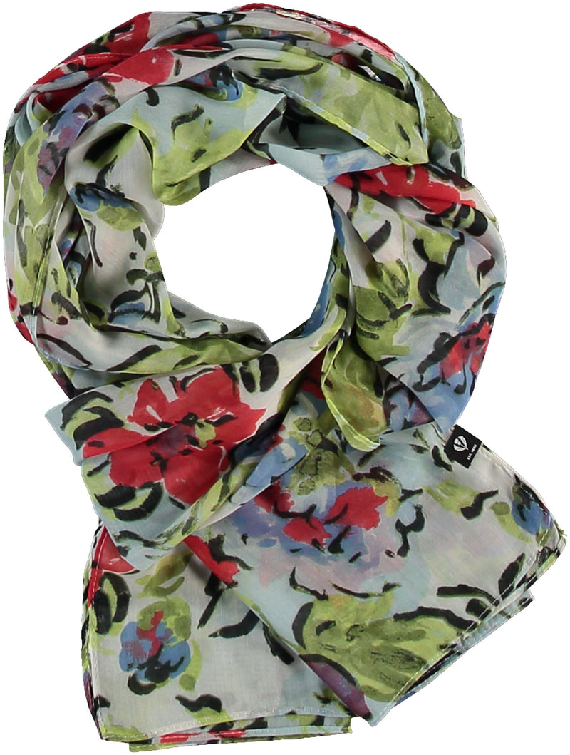 Floral Bouquet Scarf Accessories - The Post Office by Shannon Passero. Fashion Boutique in Thorold, Ontario