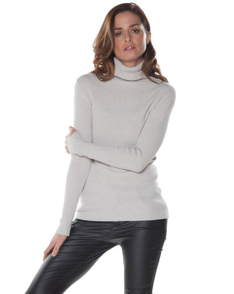 Rib Turtleneck Tops - The Post Office by Shannon Passero. Fashion Boutique in Thorold, Ontario
