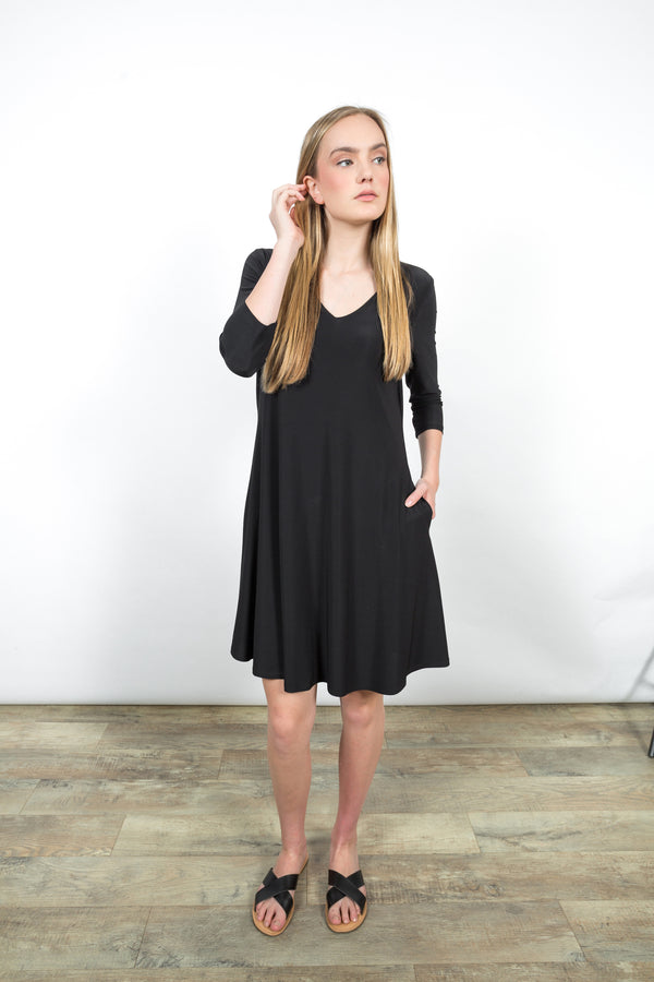 Ava Swing Dress Dresses - The Post Office by Shannon Passero. Fashion Boutique in Thorold, Ontario