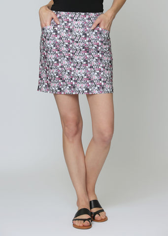 Vogue Digital Print Skort