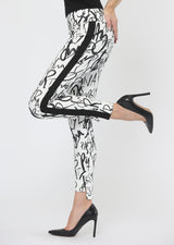 Fun Party Print Ankle Pant Bottoms - The Post Office by Shannon Passero. Fashion Boutique in Thorold, Ontario