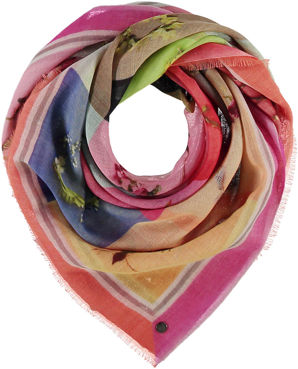 Botanical Alphabit Scarf Accessories - The Post Office by Shannon Passero. Fashion Boutique in Thorold, Ontario