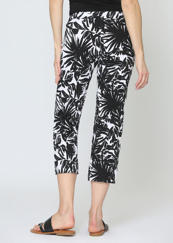 Maldives Jacquard Crop Trouser