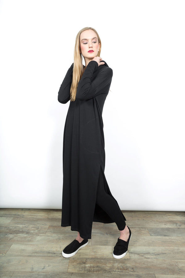 Shelby Hooded Dress Dresses - The Post Office by Shannon Passero. Fashion Boutique in Thorold, Ontario