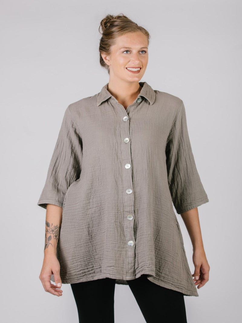 Meryl Tunic Top Tops - The Post Office by Shannon Passero. Fashion Boutique in Thorold, Ontario