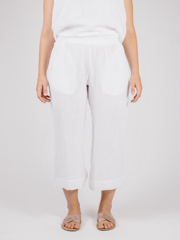 Reyanna Crop Pant Bottoms - The Post Office by Shannon Passero. Fashion Boutique in Thorold, Ontario