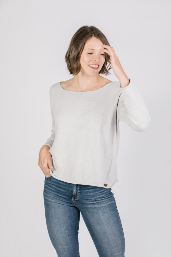 Lorissa Crewneck Pullover Tops - The Post Office by Shannon Passero. Fashion Boutique in Thorold, Ontario