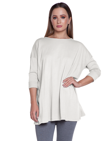 Drop Shoulder Sleeve Tunic Tops - The Post Office by Shannon Passero. Fashion Boutique in Thorold, Ontario