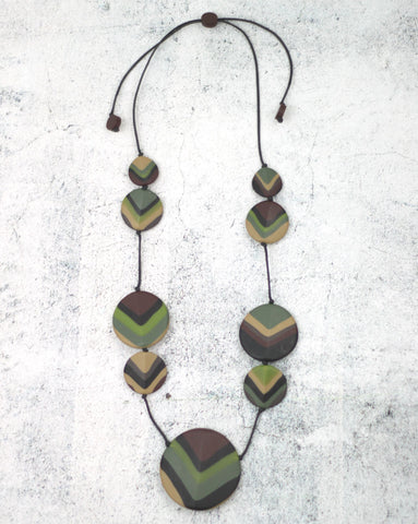 Forest Jaden Necklace