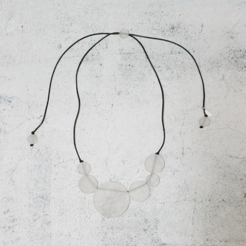 Frosted Leona Bubble Necklace