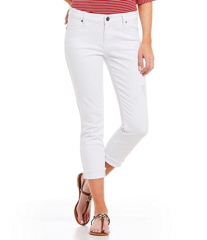 Amy Crop White