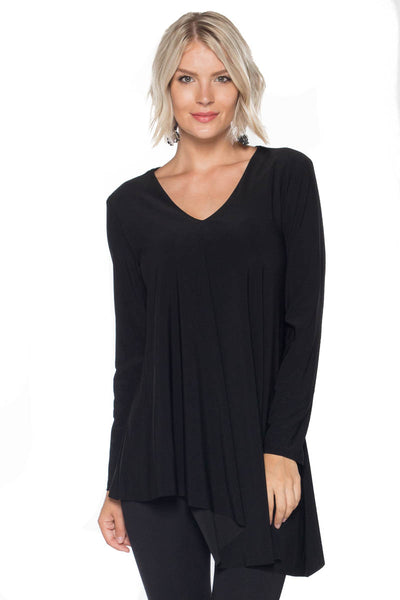 Vneck Side Tunic