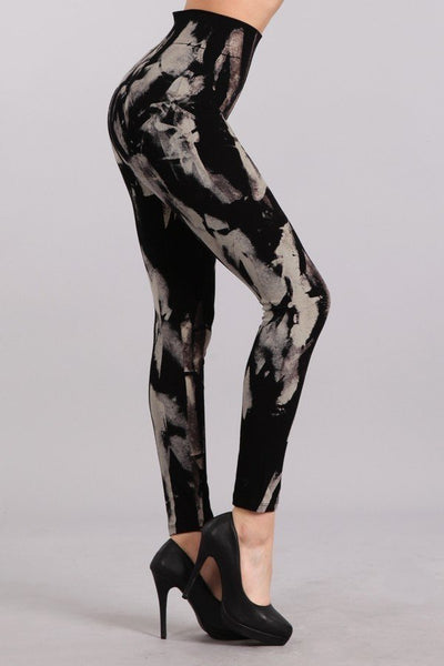 Abstract Grunge Legging M. Rena Canada