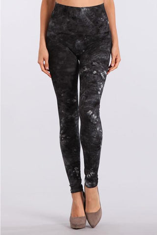 Misty Paisley Brushed Legging