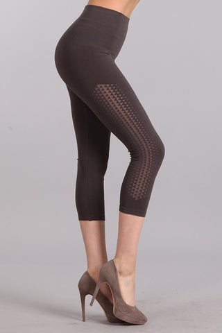 Tri Gradient Crop Legging
