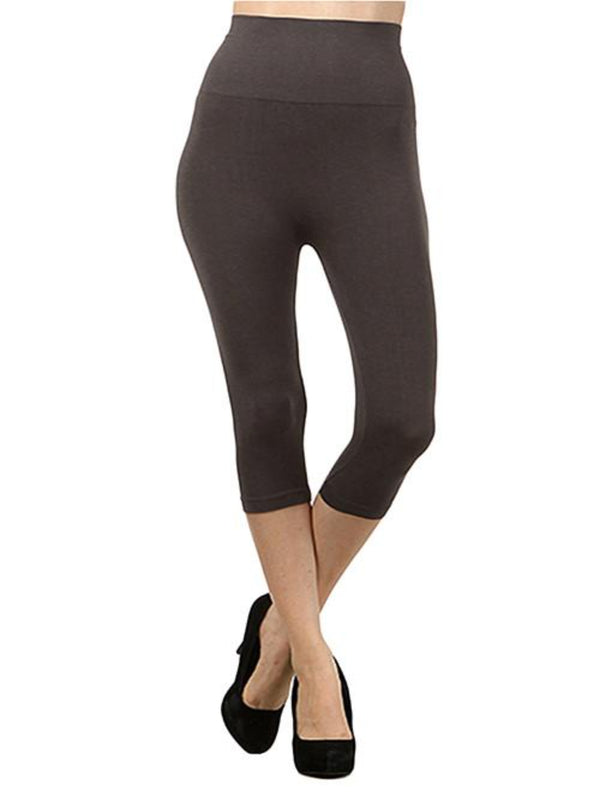Tummy Tuck Crop Tight Bottoms - The Post Office by Shannon Passero. Fashion Boutique in Thorold, Ontario