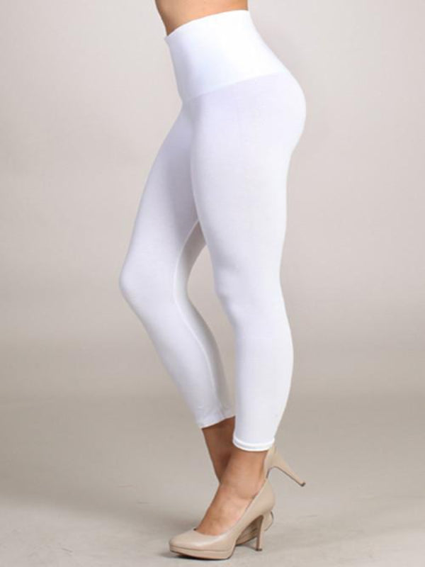 High Waist Crop Bottoms - The Post Office by Shannon Passero. Fashion Boutique in Thorold, Ontario