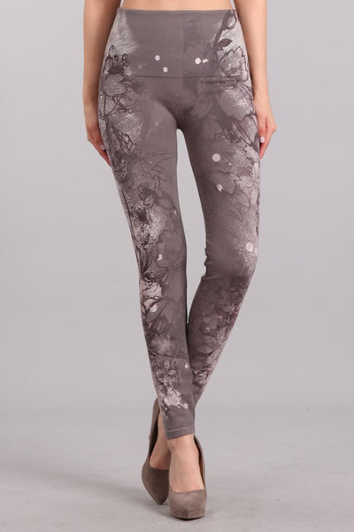 Side Monochrome Legging