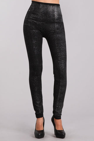 Glitter Denim Legging